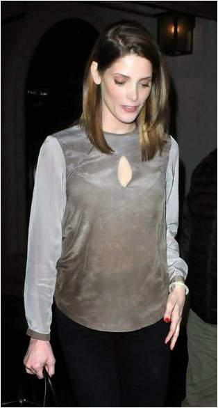 Ashley Greene in Stardust Miki Blouse