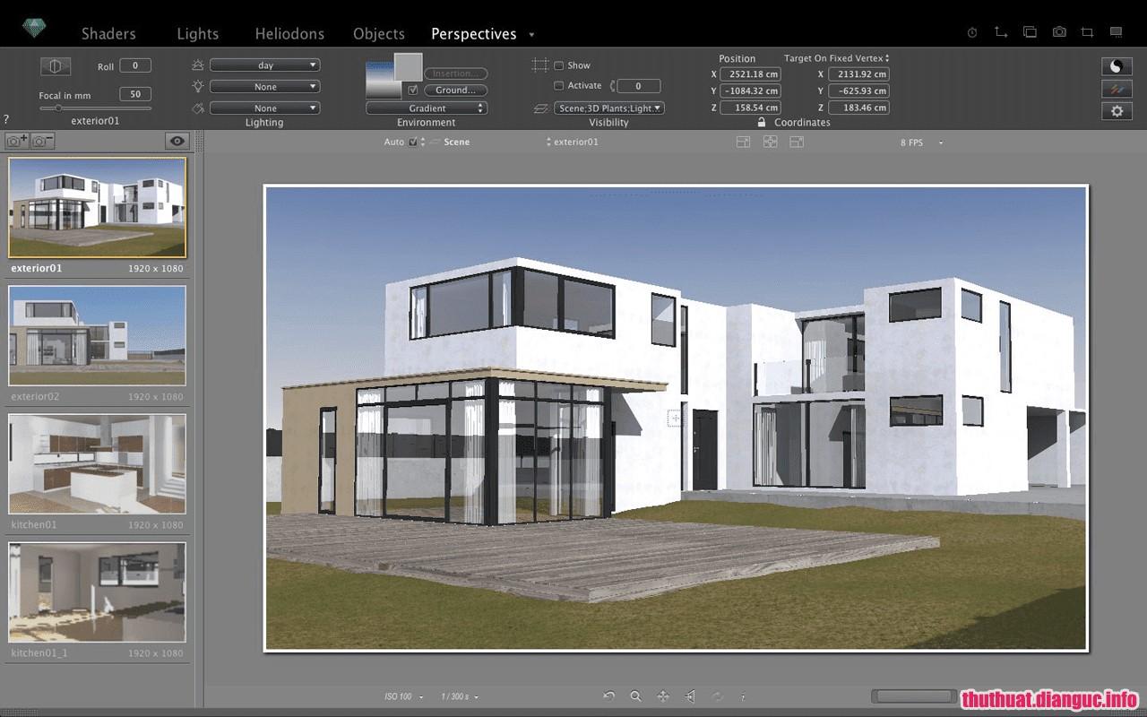 Download Artlantis Studio 7.0.2.3 Full Cr@ck – Phần mềm dựng hình tốt nhất