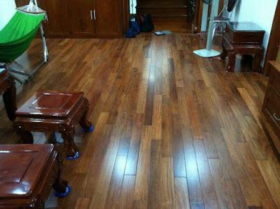 Sàn gỗ Giáng Hương kêu, cong vênh  -  Cách xử lý