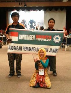 Kompetisi Robot Internasional, Murid Madrasah Bawa Pulang 4 Medali