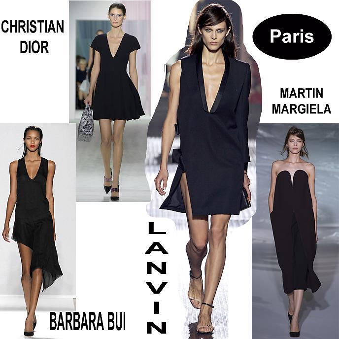 c460ebb406a simply frabulous  Paris fashion week  la petite robe noire