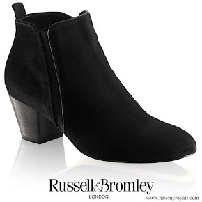 Kate Middleton wore Russell and Bromley FAB Dry Ankle boots