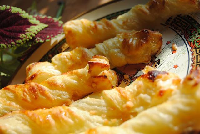 miodowo cytrynowe ciasto francuskie