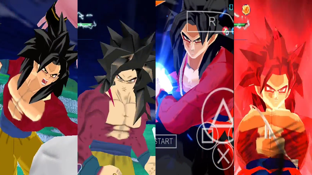 Goku SSJ4 Limit Breaker DBZ Budokai Tenkaichi 3