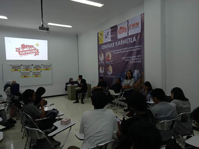 Seminar: Mengurai Masalah Kebakaran Lahan dan Hutan dan Perjuangan Mewujudkan Keadilan Iklim