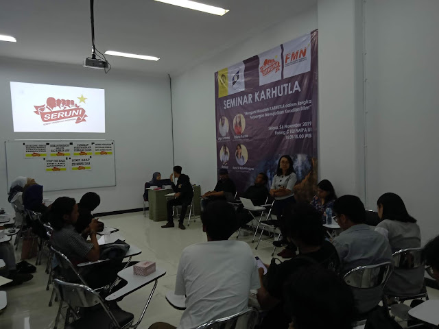 Seminar: Unraveling the Problem of Forest Fires in Indonesia and the Struggle for Climate Justice