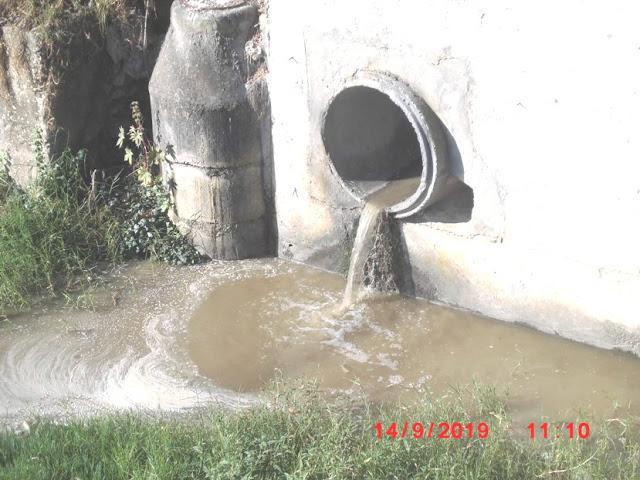Crime ambiental em ribeira de Tires
