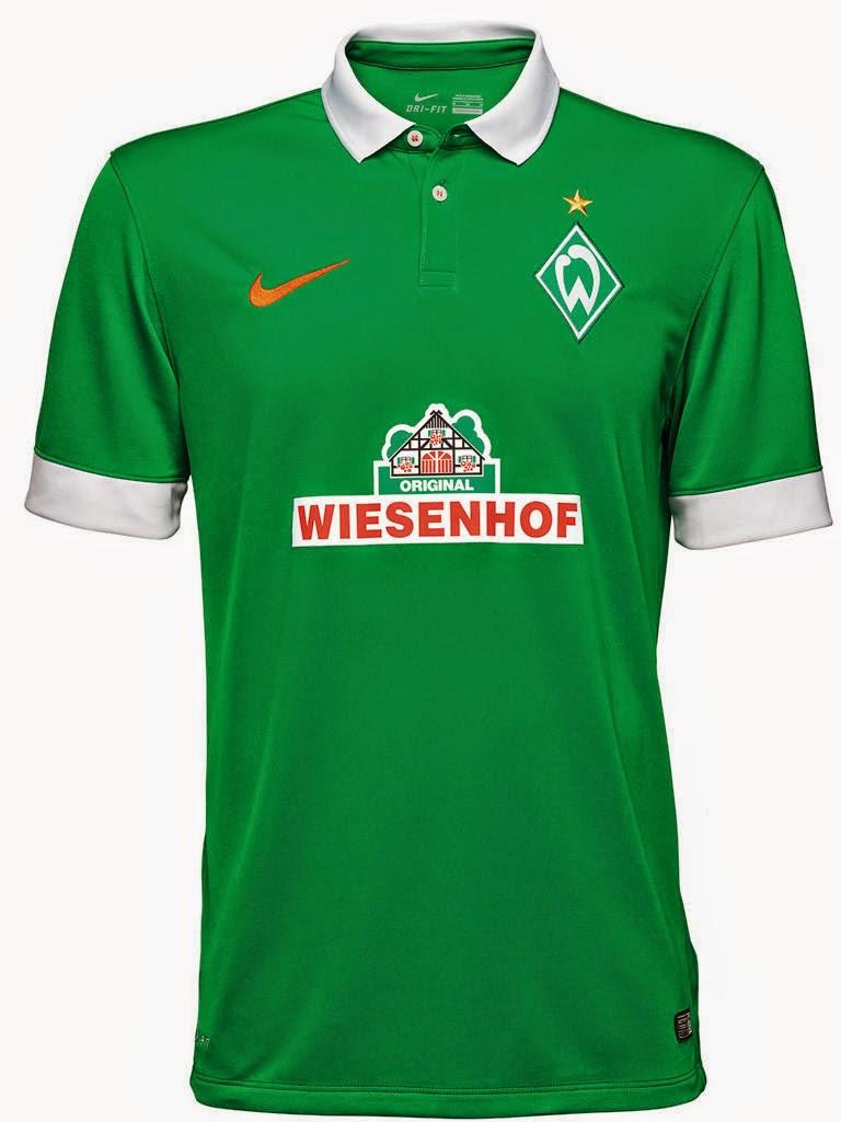 20b1bef16a O Werder Bremen divulgou um vídeo de como será sua camisa número 1 para  temporada 2014 2015. Confira abaixo as imagens e o filme