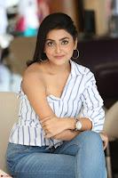 Avantika Mishra in One Shoulder Crop Top and Denim Jeggings ~  Exclusive 073.JPG