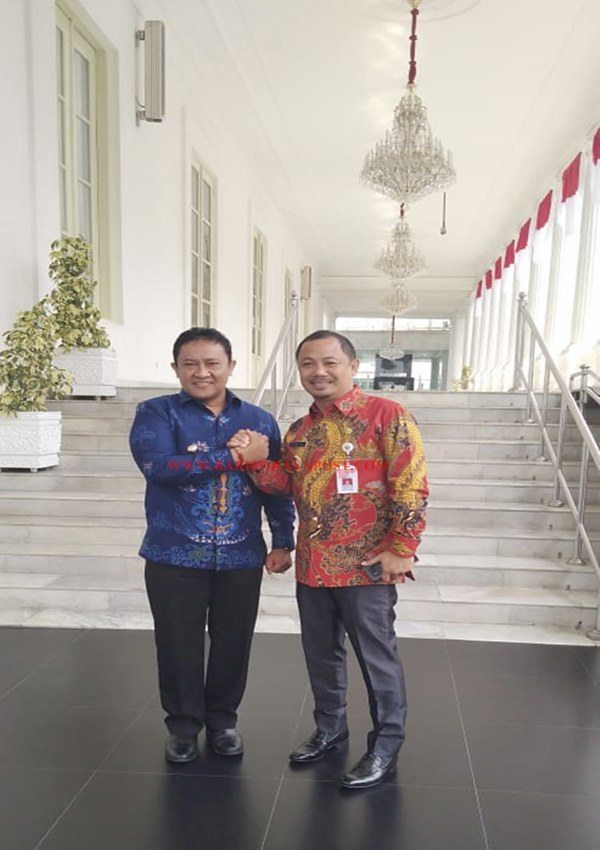 Bupati Barito Selatan Eddy Raya Samsuri Menghadiri Rakornas Karhutla di Istana Negara