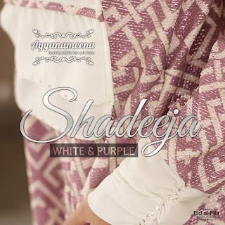 Ayyanameena Shadeeja White-Purple