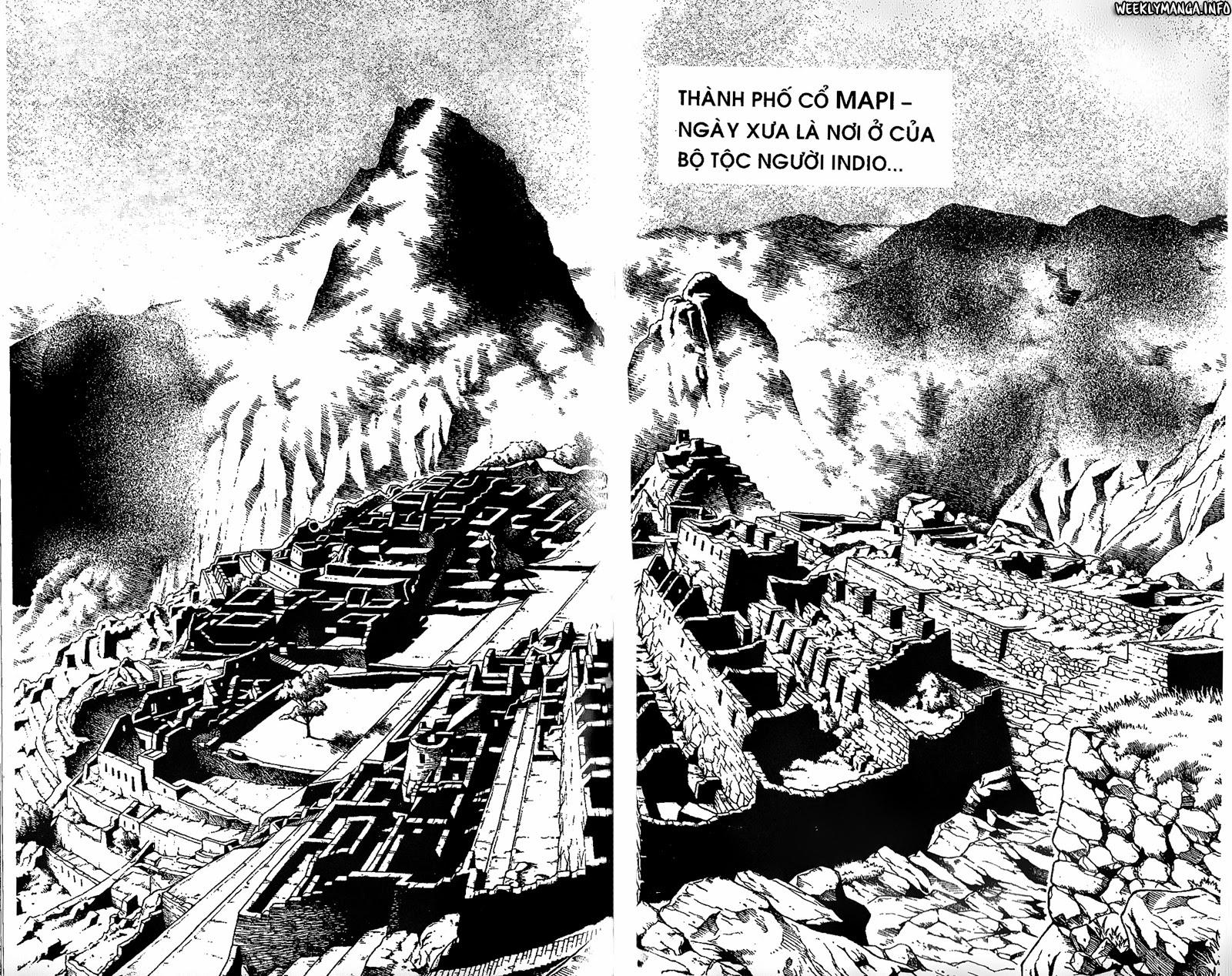 Shaman King [Vua pháp thuật] chap 203 trang 16