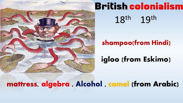 الاستعمار البريطاني وتطور اللغة الإنجليزية