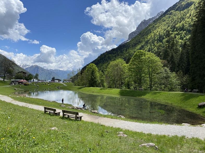 Il laghetto di Valcanale