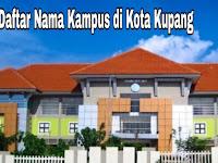 5+ Kampus Terbaik di Kota Kupang yang terkenal