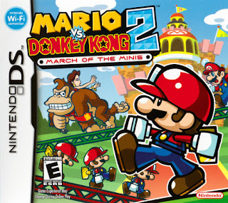Portada de Mario vs. Donkey Kong 2 March of the Minis `para Nintendo DS, 2006