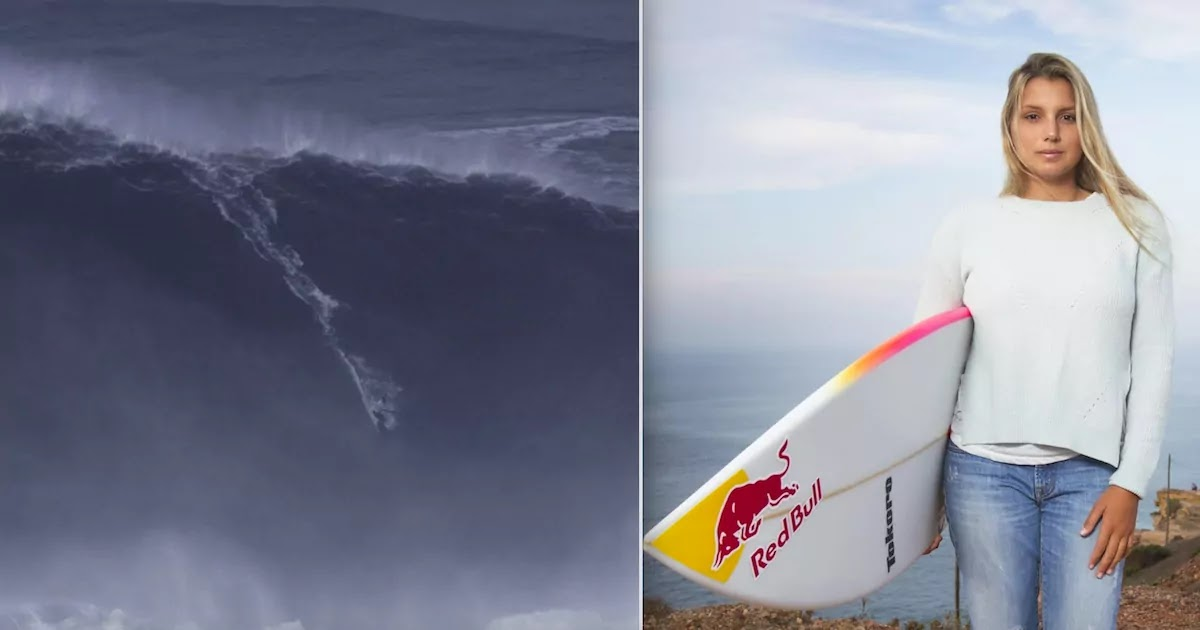 Maya Gabeira Breaks World Record For Largest Wave Ever Surfed By A Female Surfer: Video