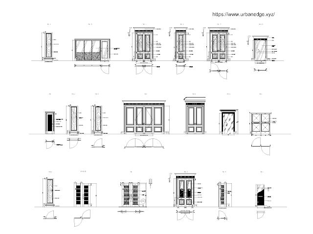 Doors Designs cad blocks free download - 20+ free cad blocks