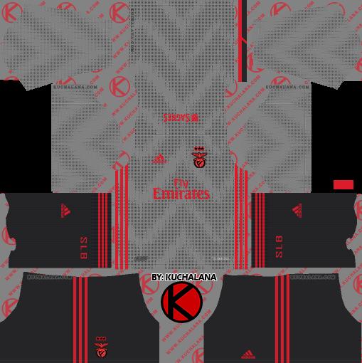 sale retailer a80a8 50fab SL Benfica 2019/2020 Kit - Dream League Soccer Kits - Kuchalana