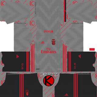 SL Benfica 2019/2020 Kit - Dream League Soccer Kits