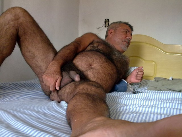 chubby thick cock. a dads with hairy