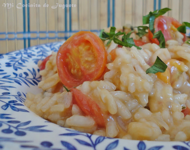 Risotto de Tomate Cherry