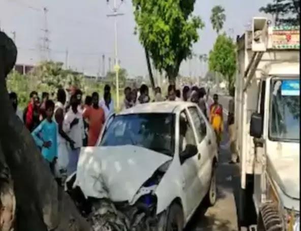 कैमूर से पटना लौट रहे दारोगा की सड़क हादसे में मौत