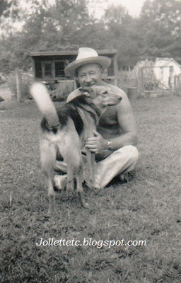 Fred Slade and the Moores' dog https://jollettetc.blogspot.com
