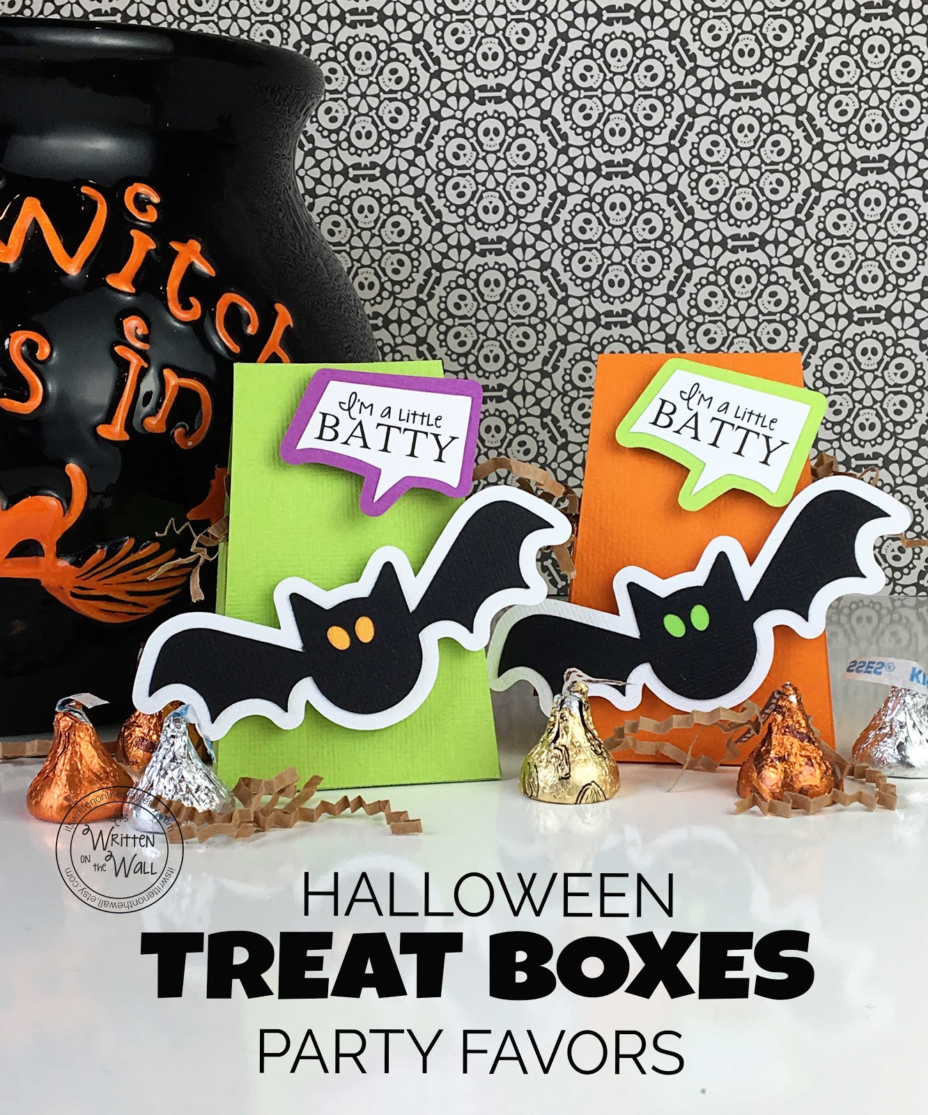 I'm a little batty Treat Boxes