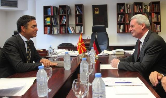 Neuer Deutscher Botschafter in Mazedonien