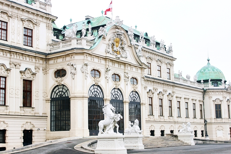 Upper Belvedere palace entrance