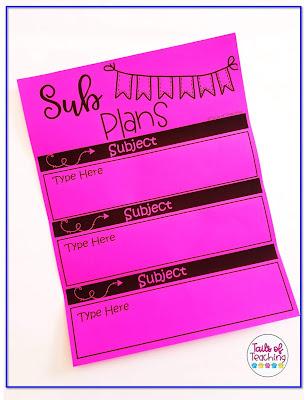 sub-plans