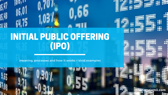 Initial Public Offering: Everything you need to know with vivid examples
