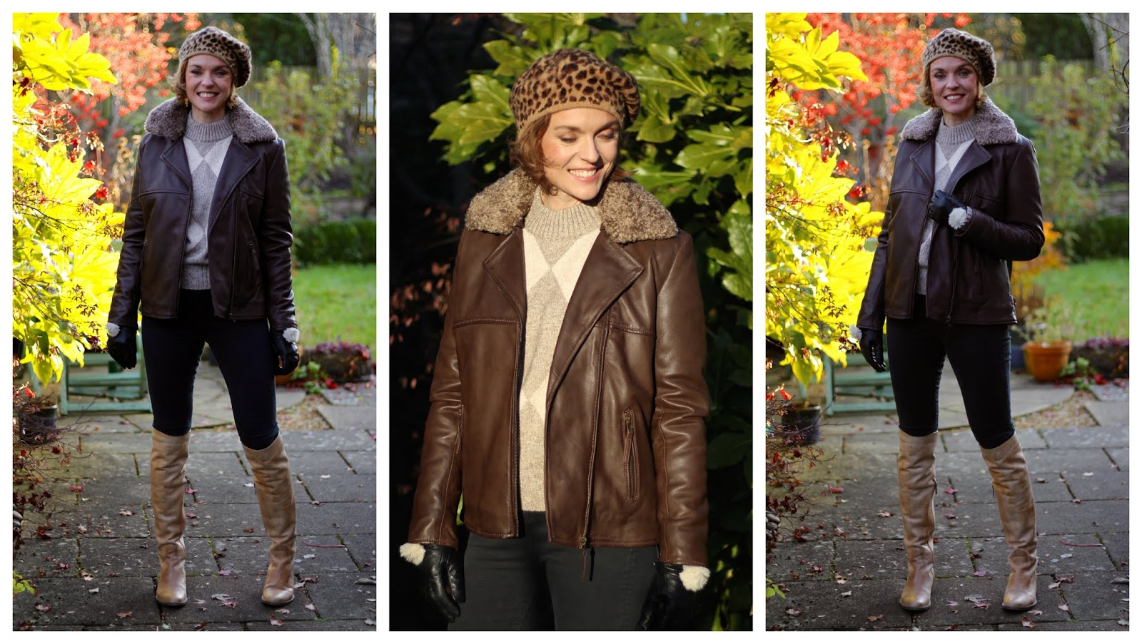 HidePark X Fake Fabulous | Winter Style | Leather Jackets