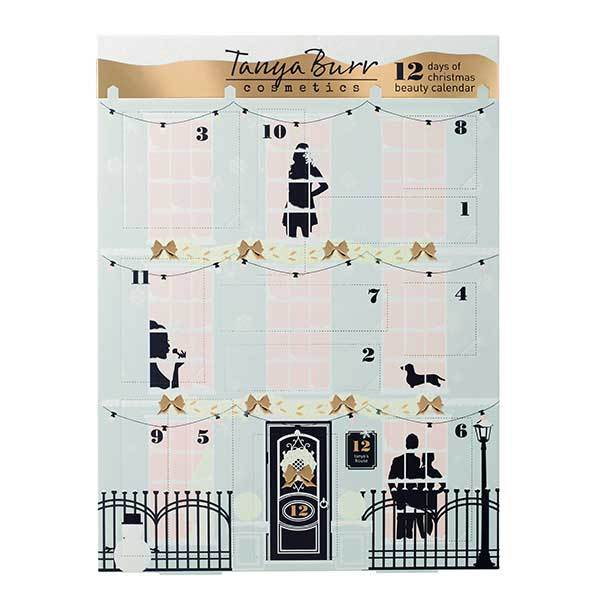 tanya burr 12 day beauty advent calendar