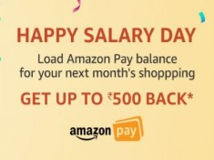 LAST DAY TODAY : Add Rs. 2500 & Get Rs. 500 Cashback !! Hurry Up !!