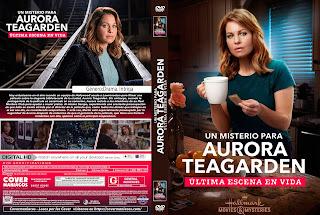 UN MISTERIO PARA AURORA TEAGARDEN ULTIMA ESCENA EN VIDA - SCENE ALIVE AN AURORA TEAGARDEN MYSTERY 2018 [COVER - DVD]