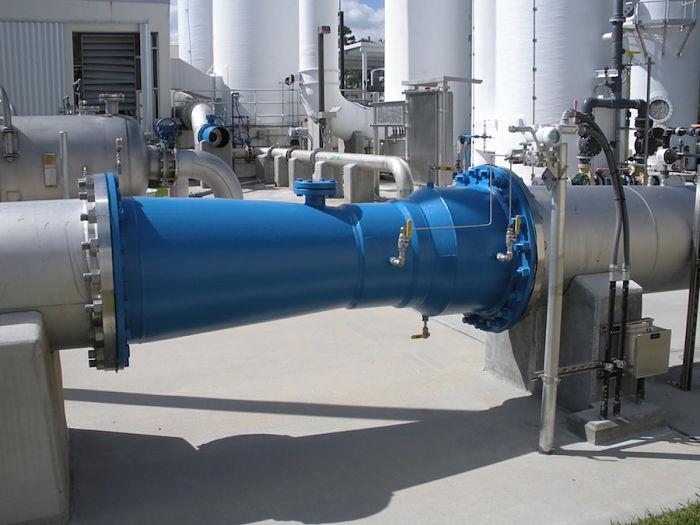 Tubo Venturi para medir caudal una aplicación del efecto Venturi - Venturi Effect