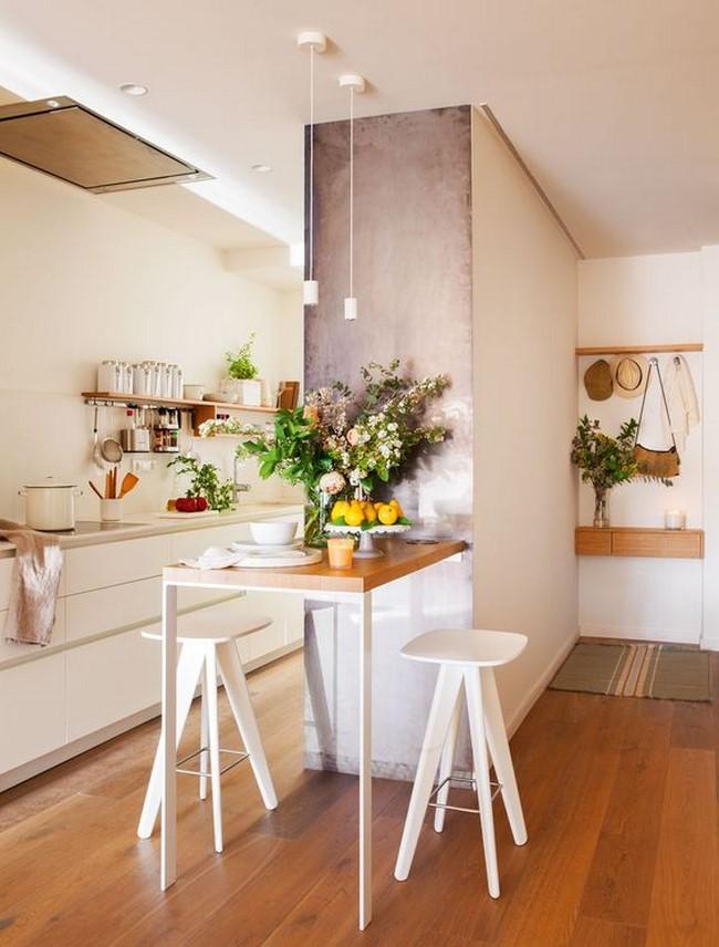 13 fotos de comedores peque os modernos for Muebles modernos para comedores pequenos