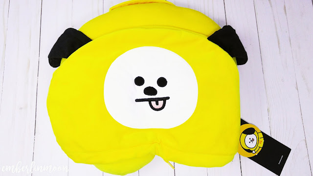 BT21 Chimmy Hooded Travel Neck Pillow