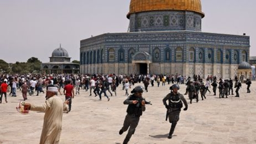 Usai Gencatan Senjata, Israel dan Warga Palestina Bentrok di Masjid Al Aqsa