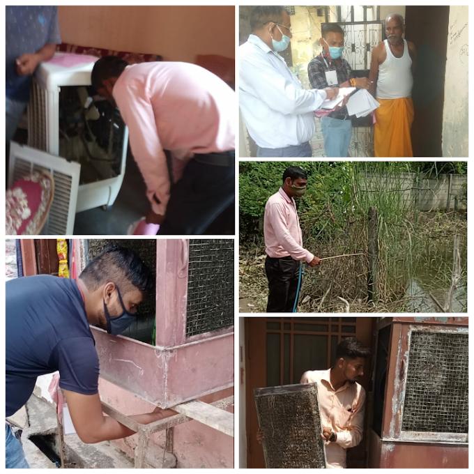 राजधानी के इन इलाकों में पनपते मिले डेंगू के लार्वा, 29 को दी नोटिस