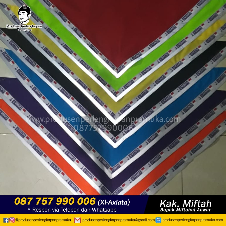 Jual Scraf Pramuka Surabaya