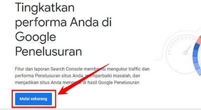 beranda google search console