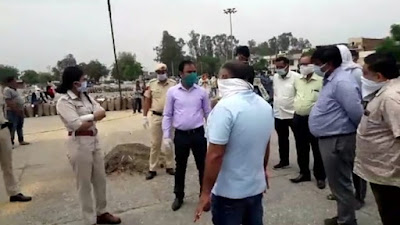 सुरक्षा व्यवस्था के बीच कुरुक्षेत्र के खरीद केन्द्रों पर शुरु हुआ सुचारु रुप से गेंहू खरीद का कार्य:धीरेंद्र