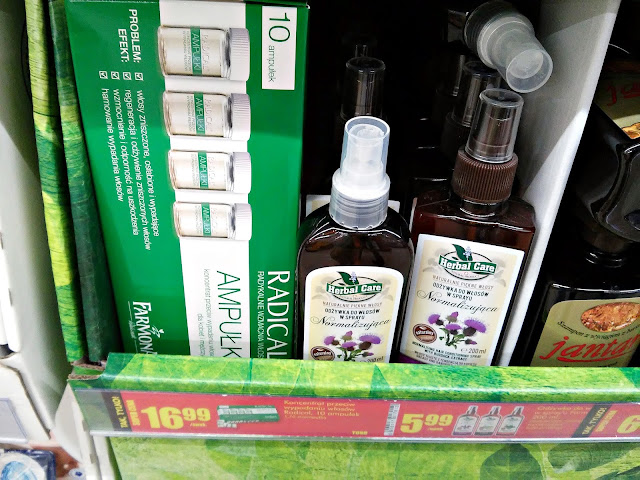 Farmona - Odżywka Herbal Care, Biedronka promocje
