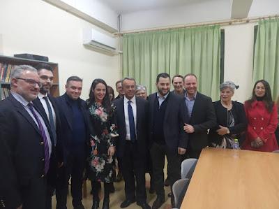 Αποτέλεσμα εικόνας για Σε σύσκεψη με Υφυπουργό  Κοινωνικής Πρόνοιας συμμετείχε ο Φ. Σπανός