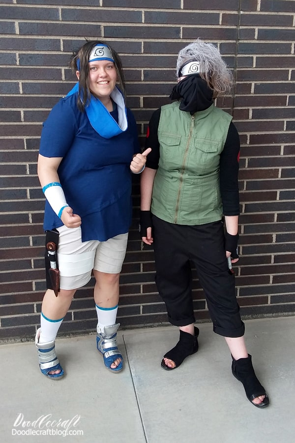 They had a great time at our local library Fandom event and entered the cosplay contest as a group.