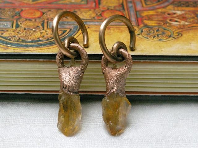 https://www.etsy.com/ca/listing/719037664/10g-copper-spiral-citrine-point-earrings