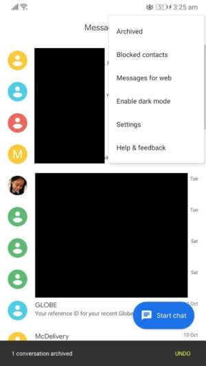 Cara Menyembunyikan SMS di Android  4